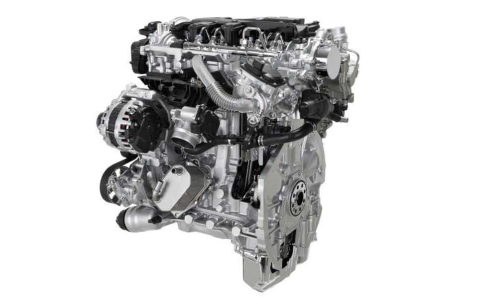 Nissan Navara 2,3 liters turbodieselmotor