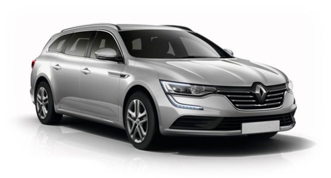 Renault Talisman i sølv grå farge