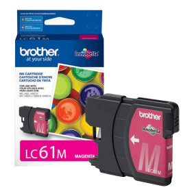 Cartucho Lc61m Magenta   Brother