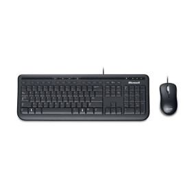 Kit Multimidia Wired 600 C/ Teclado E Mouse Preto   Microsoft