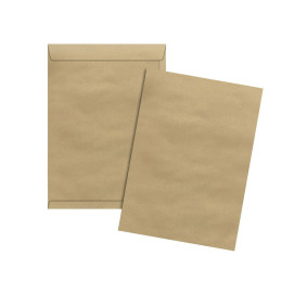 Envelope Kraft Natural Skn 324 185 Mmx248 Mm 80 G Cx C/100   Scrity