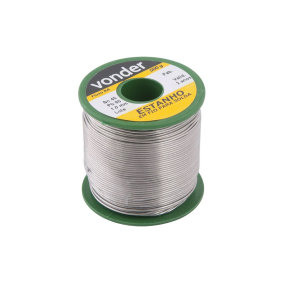 Estanho P/Solda 1,0mm C/500g   Vonder