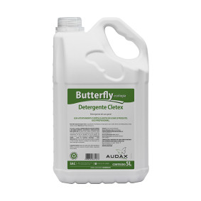 Detergente Neutro P/ Uso Geral E Utensilios Pronto Uso Cletex Butterfly 5 Lts   Audax
