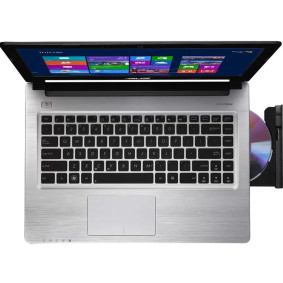 Notebook Asus Serie S Intel I7, 6gb, 500gb+24ssd, Led 14., Win 8, Preto   Asus
