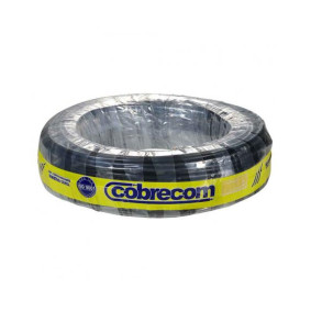 Cabo Flexivel 4x4,0mm Preto Rl/100mt   Cobrecom