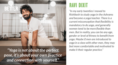 Ravi Dixit yoga teacher