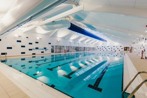 The new pool at Highbury Leisure Centre