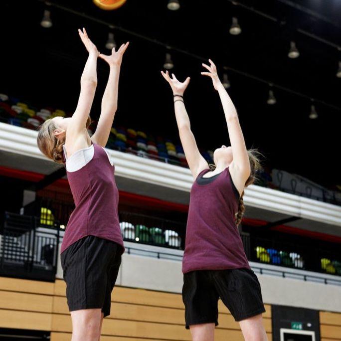 Junior Netball Better Eastern Leisure Centre Cardiff