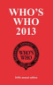 Who's Who 2013 and Who Was Who online
