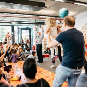 Children's activities libraries