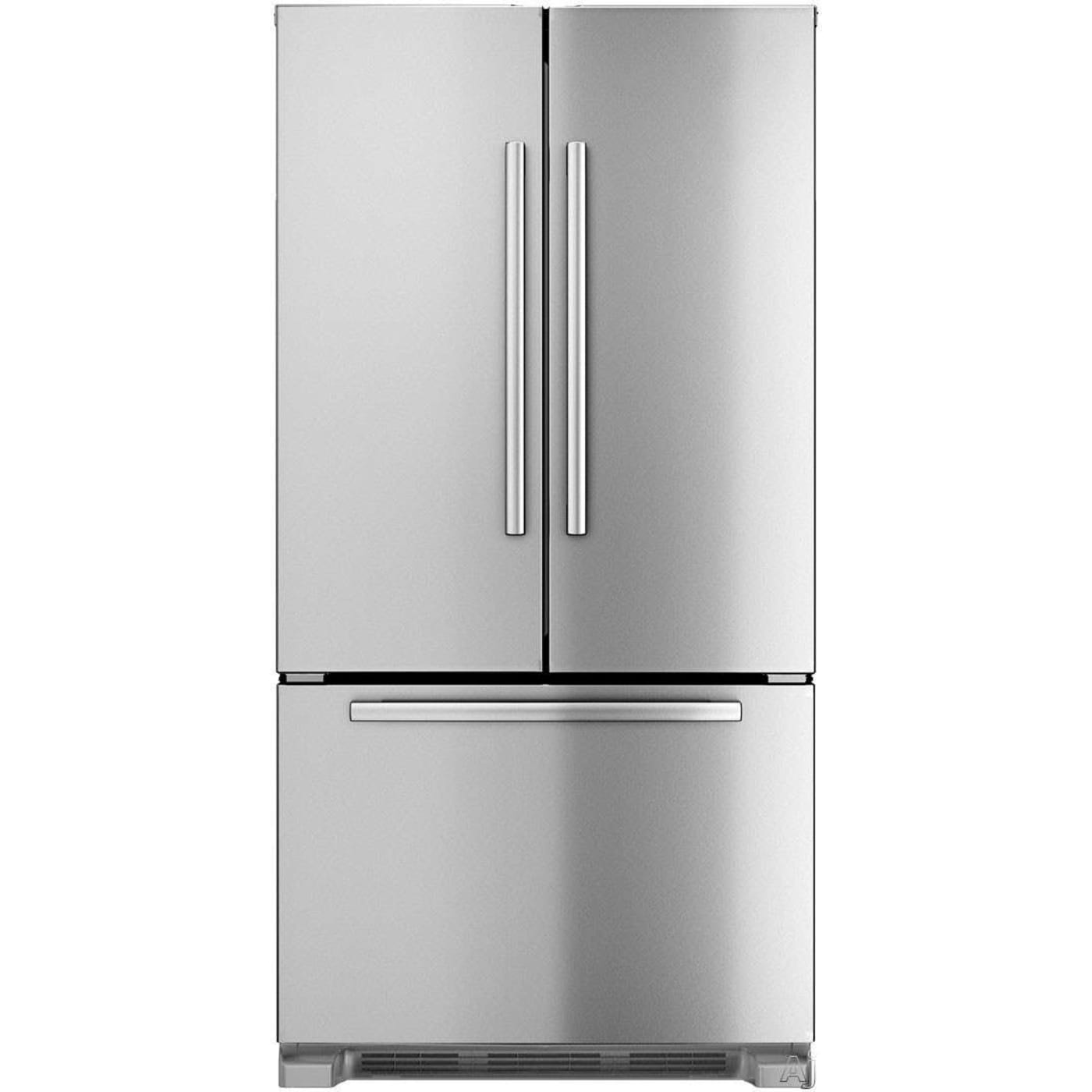 bosch b22ct80sns 800 series 21 8 cu ft stainless steel counter depth french door refrigerator. Black Bedroom Furniture Sets. Home Design Ideas