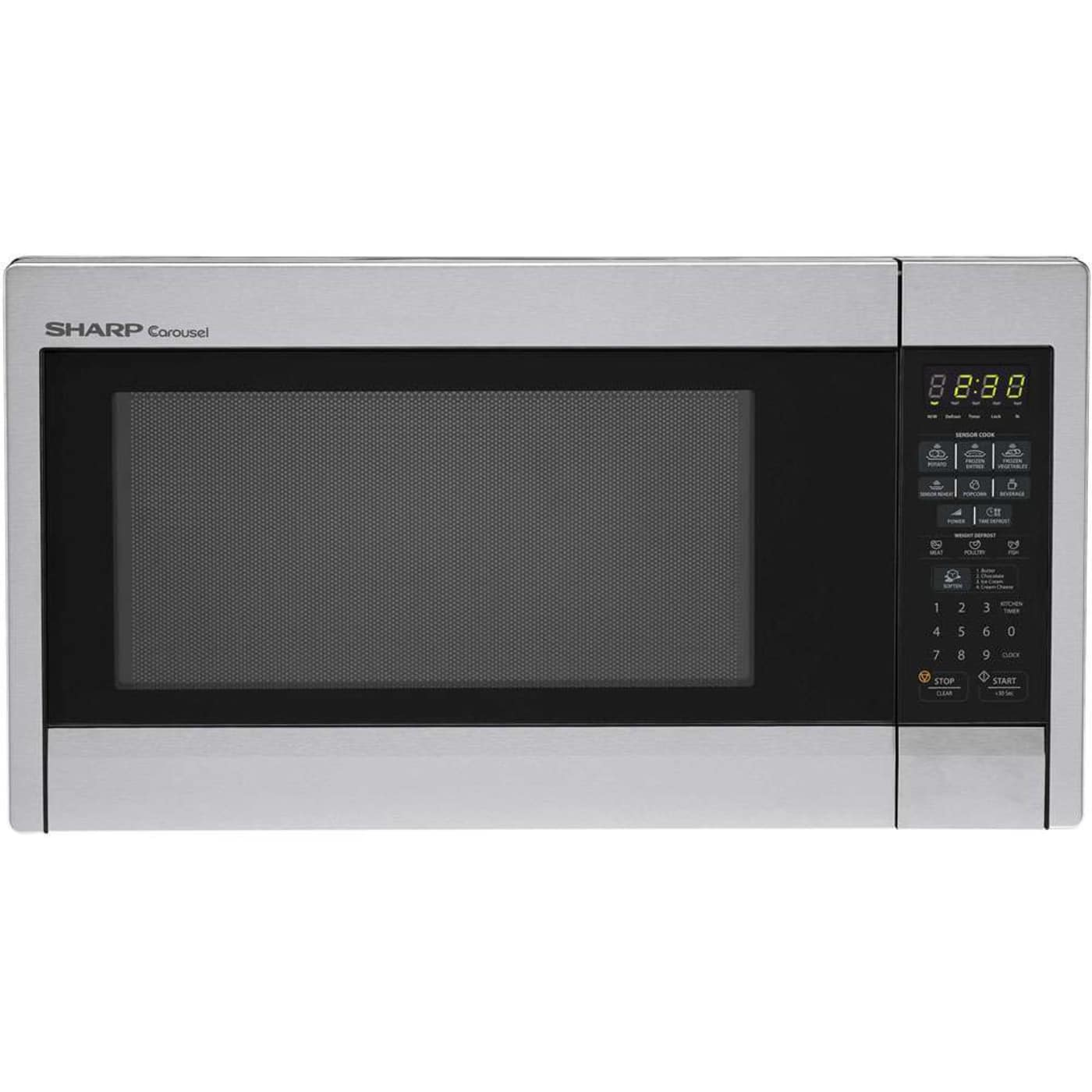 Ft Stainless Steel Countertop Microwave Sharp R451Zs