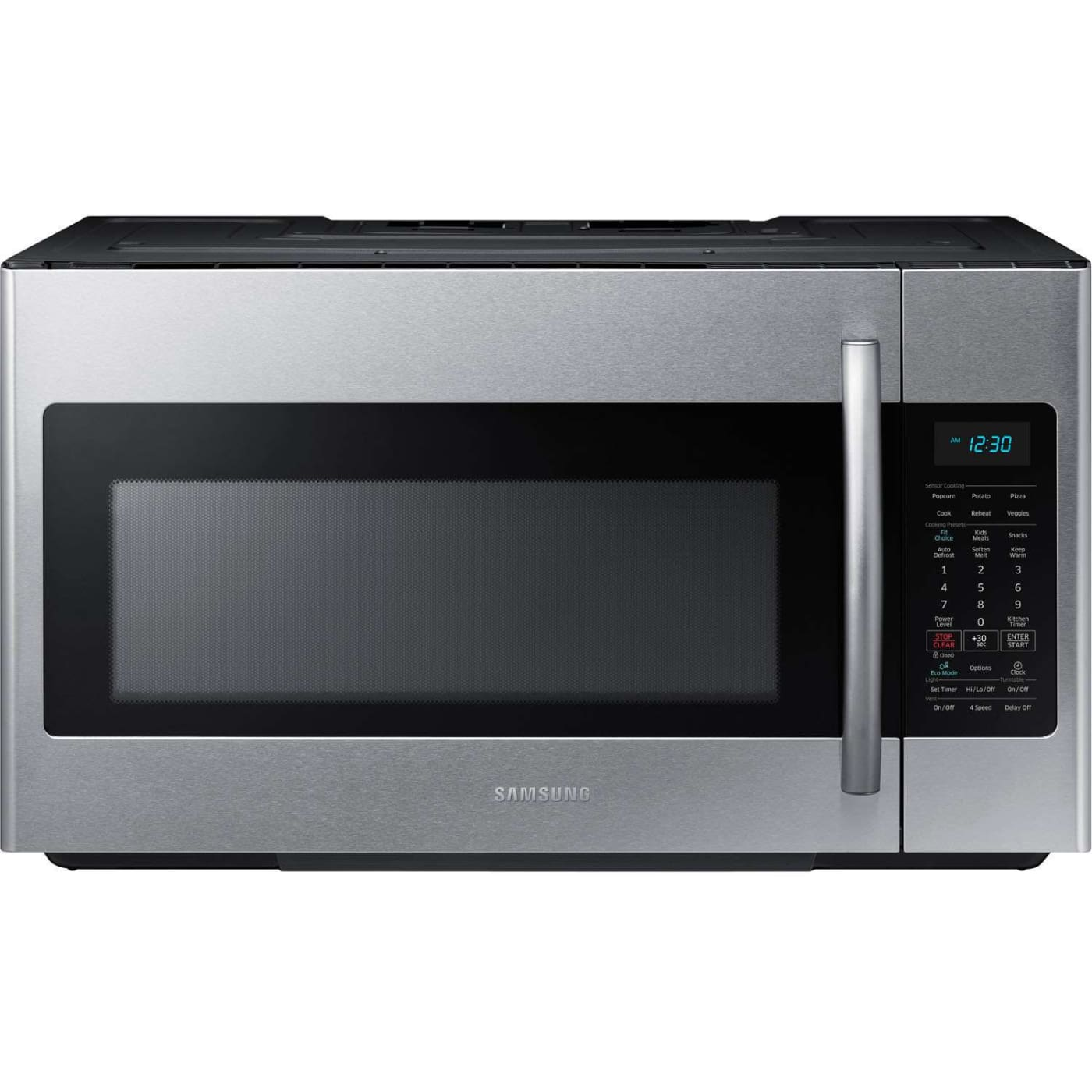Ft Stainless Steel Over The Range Microwave Samsung Me18h704sfs