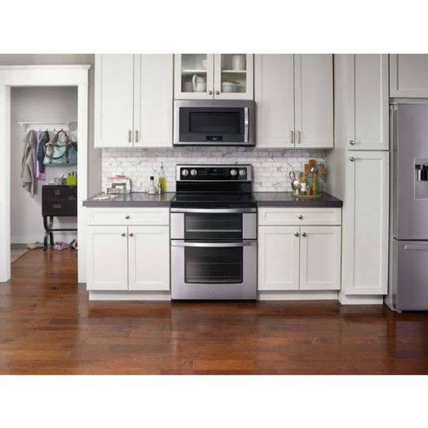Whirlpool Wge745c0fs 30 U0026quot  Stainless Steel Electric Double