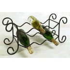 Grace Collection Burnished Copper 6 Bottle Table Top Wine Rack