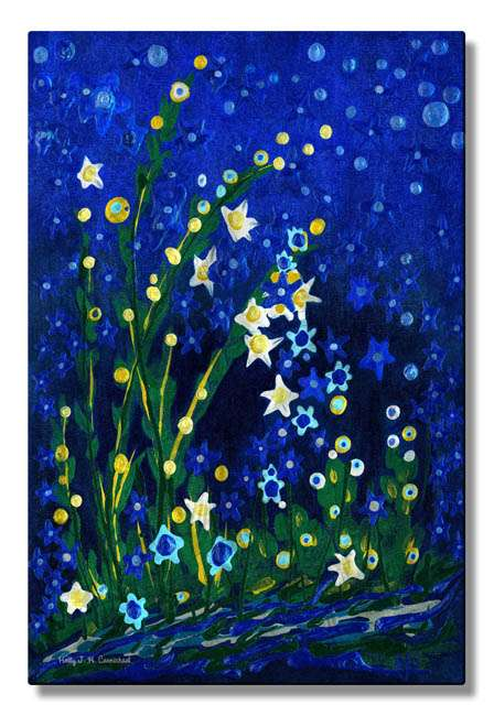 """23.5"""" x 16"""" """"Nocturne"""" Metal Wall Art by Holly Carmichael"""