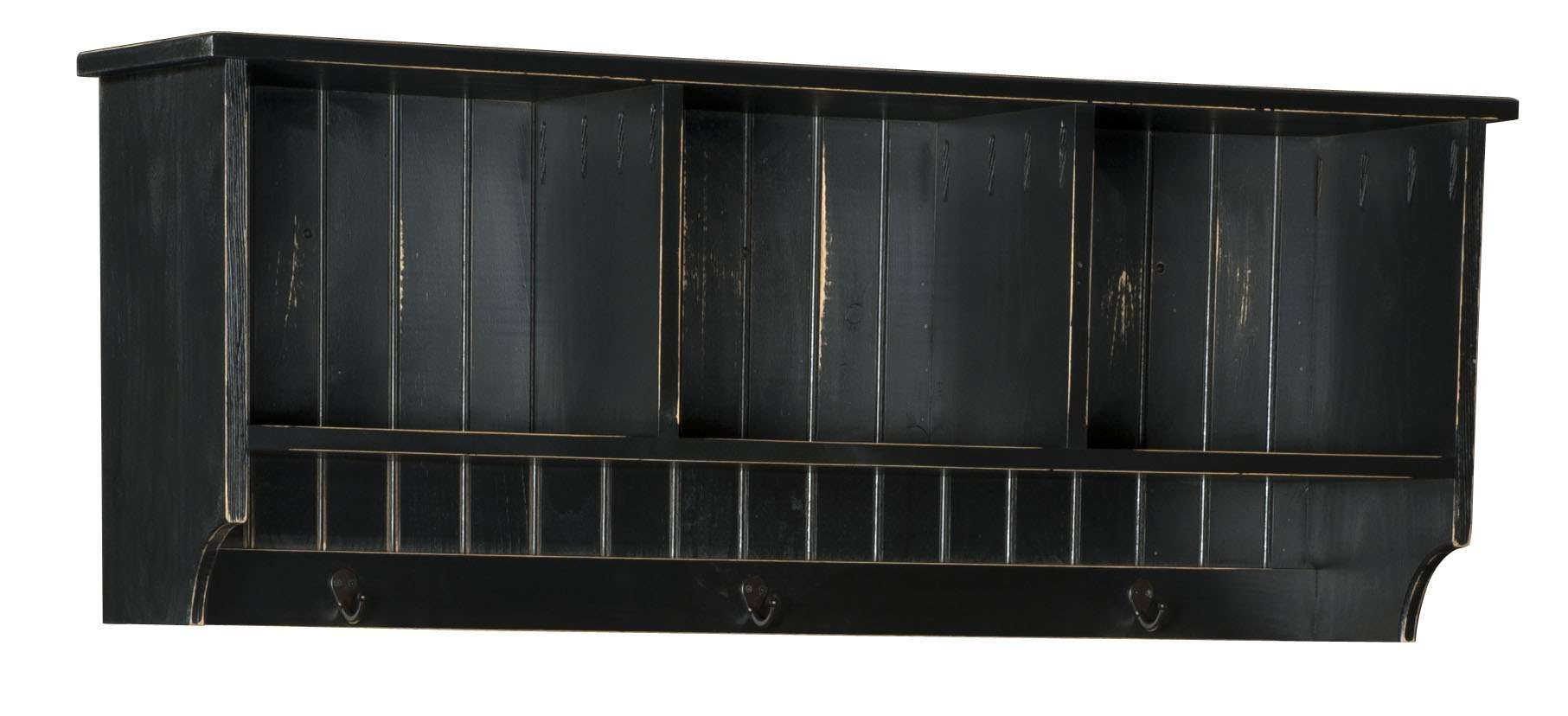 "Black 48"" Hall Shelf"