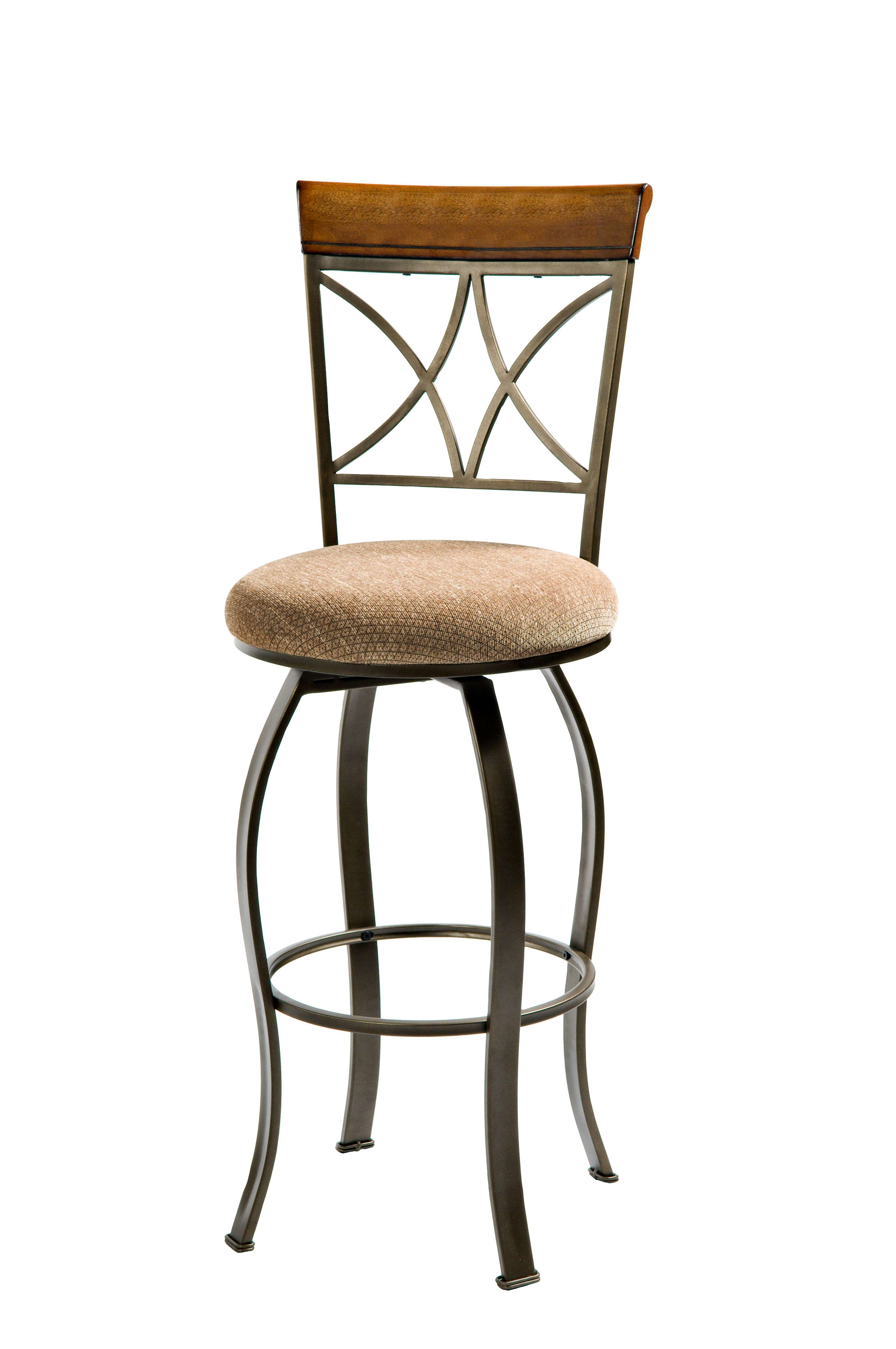 Powell Bronze Hamilton Swivel Bar Stool Amp Reviews