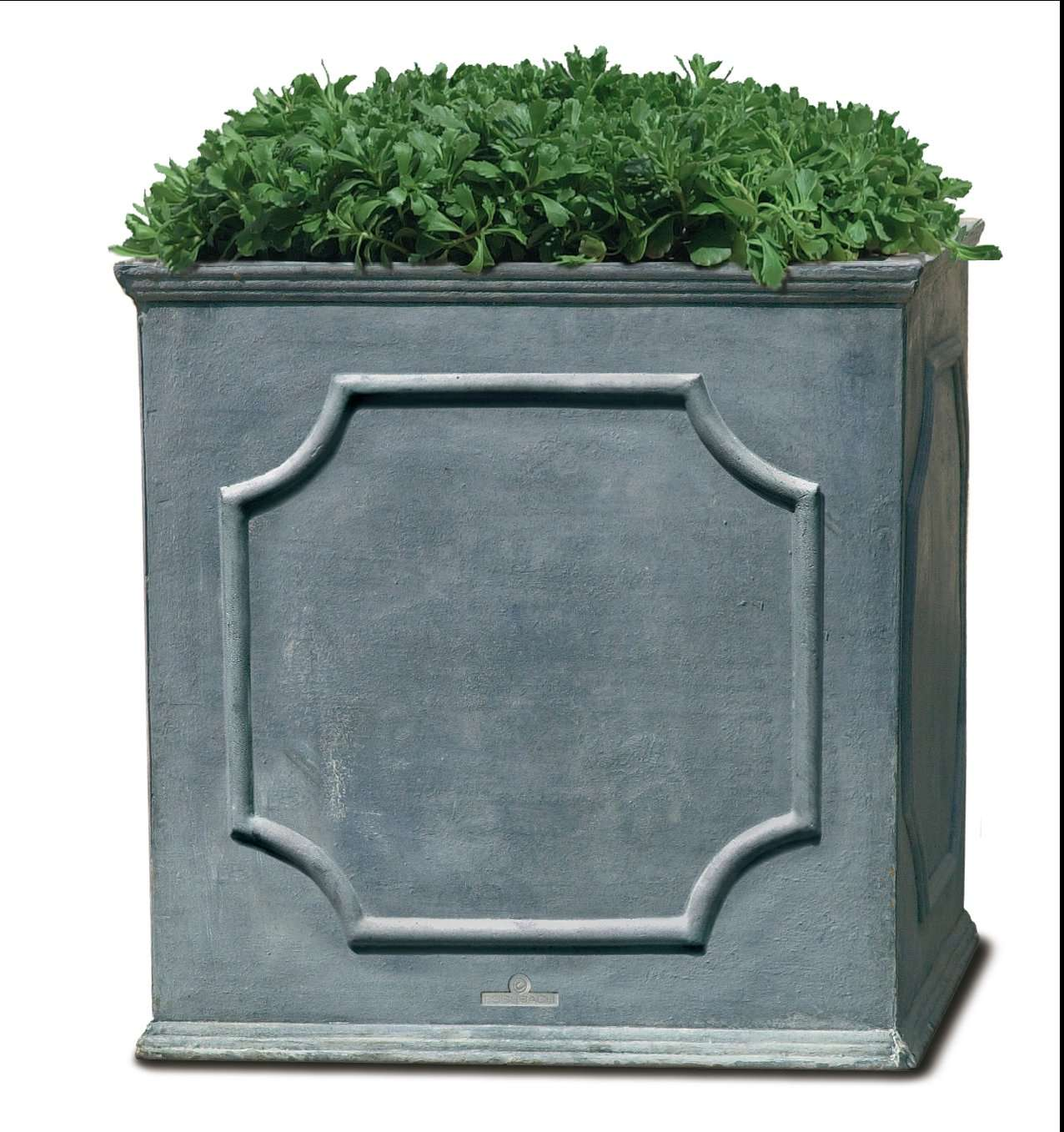 Cumberland Lead Square Planter - Set of 4 in Various Sizes