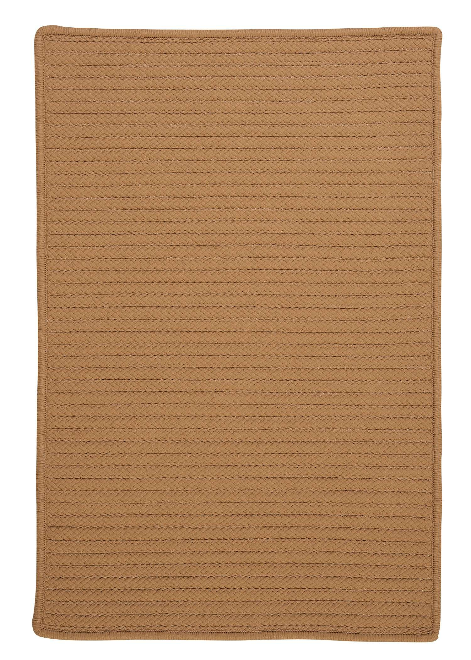 Simply Home Solid Topaz 2'x4' Rectangular Rug