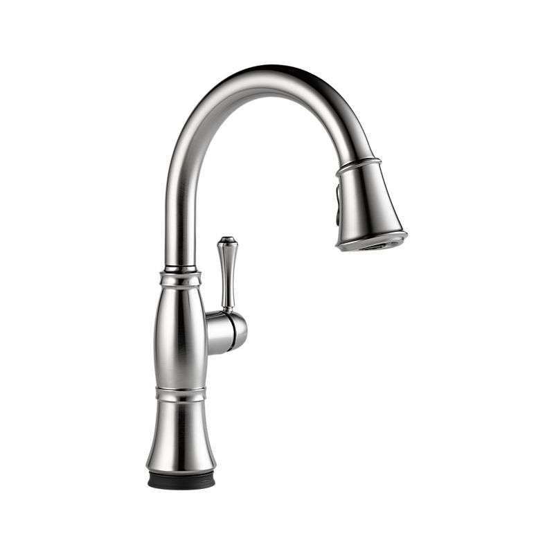 Cassidy Arctic Stainless Single Hole Kitchen Faucet