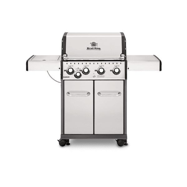 Baron S440 Stainless Steel 4 Burner Liquid Propane Grill