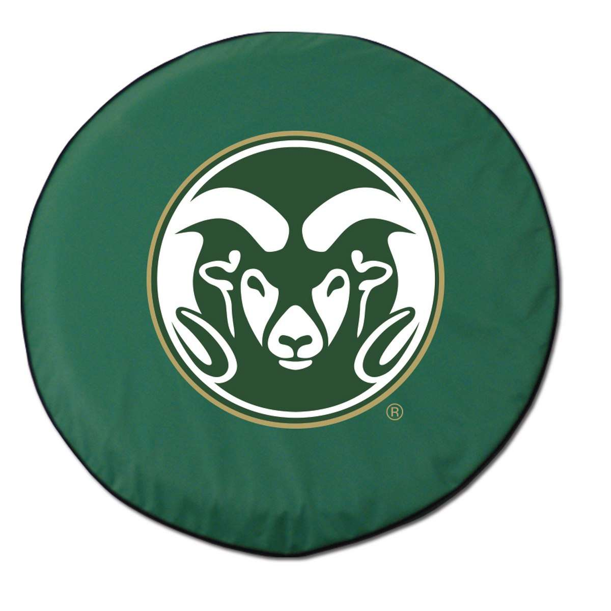 "25.5"" x 8"" Green Colorado State University Vinyl Tire Cover"