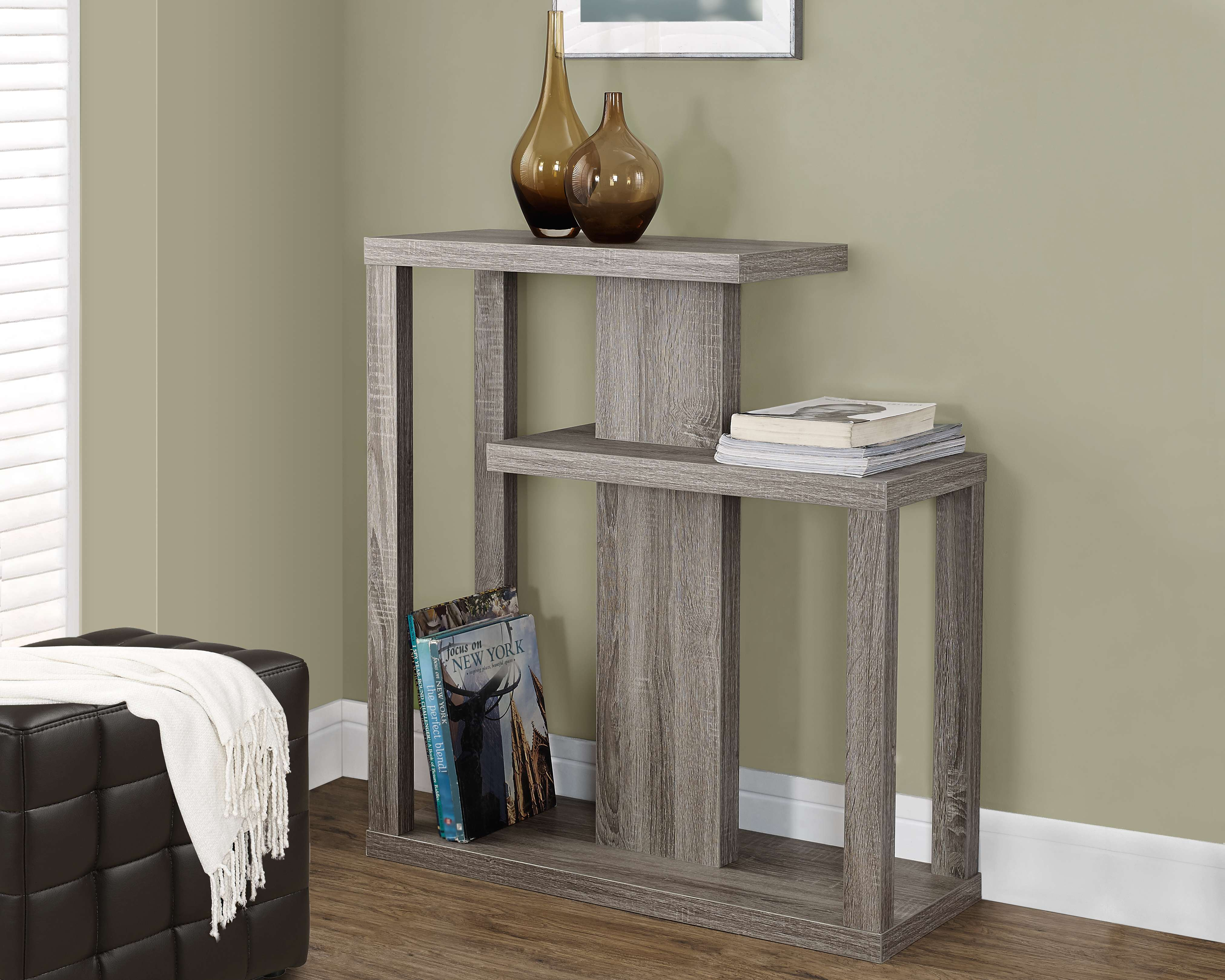 """Dark Taupe 32"""" Console Table"""