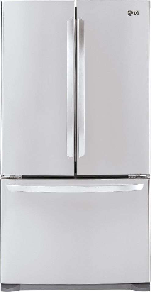 "36"" 20.7 cu. ft. Stainless Steel Counter Depth French Door Refrigerator - Energy Star"