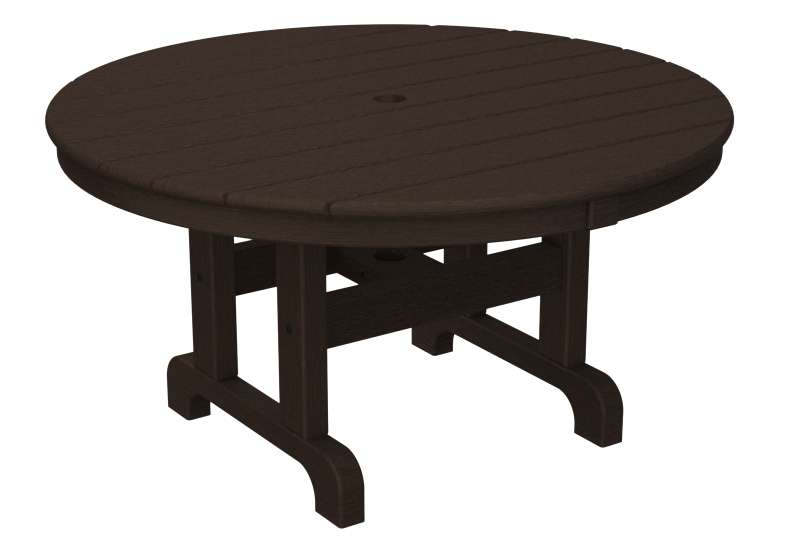 "Mahognay 36"" Outdoor Round Conversation Table"