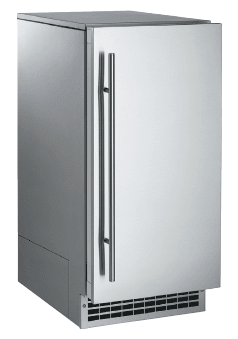 "Brilliance 15"" Stainless Steel Undercounter Ice Maker"