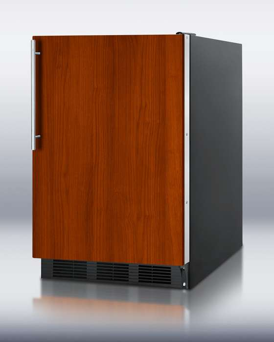 """AccuCold 24"""" 5.5 cu. ft. Custom Panel Built-In Undercounter Compact Refrigerator"""