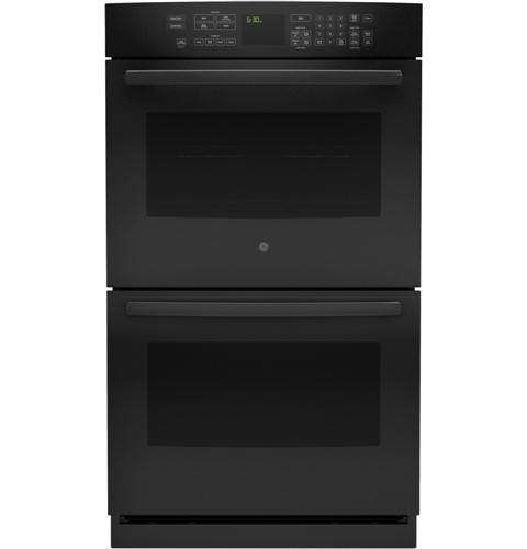 "Profile 30"" Black Electric Double Wall Oven - Convection"