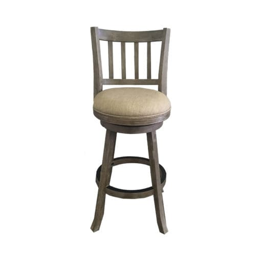 Boraam Sheldon Driftwood Gray 29 Quot 360 Swivel Bar Stool