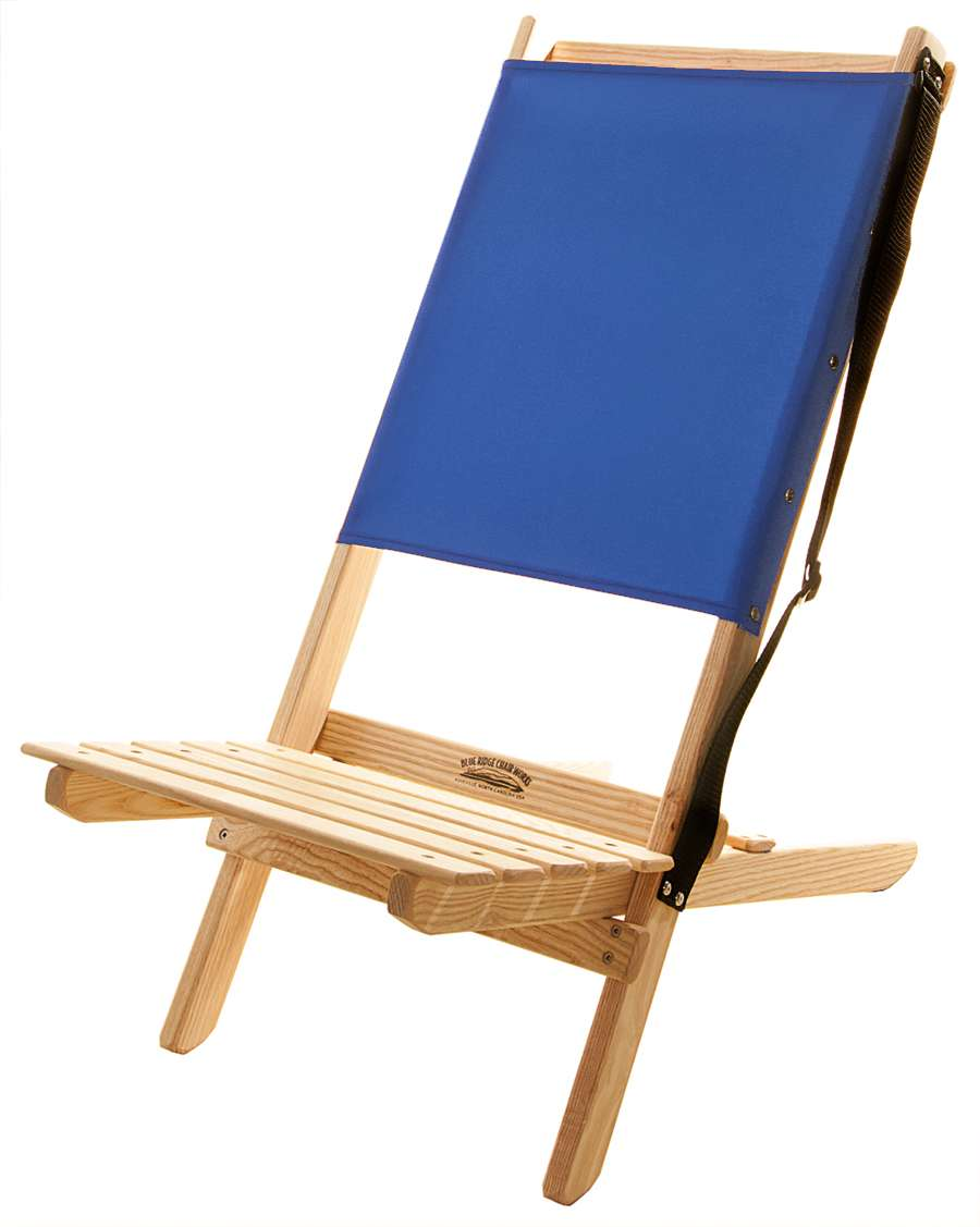Superbe Atlantic Blue Armless Blue Ridge Chair