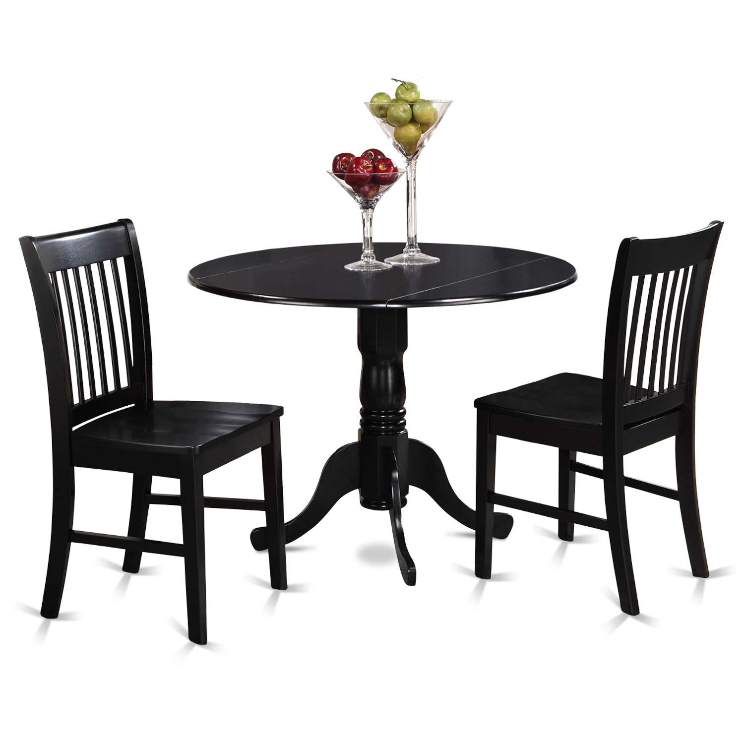 Admirable East West Furniture Dlno3 Blk W Caraccident5 Cool Chair Designs And Ideas Caraccident5Info