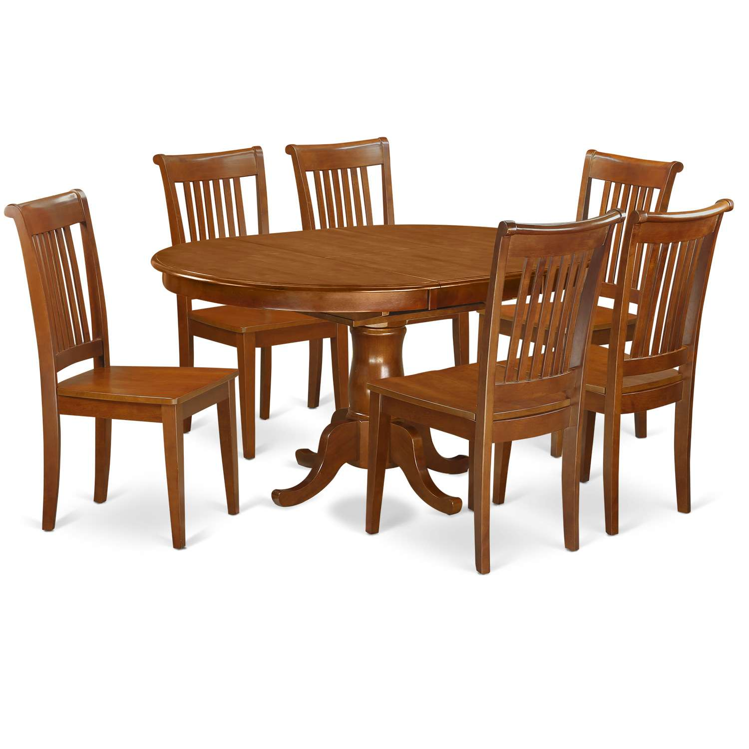 Strange East West Furniture Port7 Sbr W Gmtry Best Dining Table And Chair Ideas Images Gmtryco