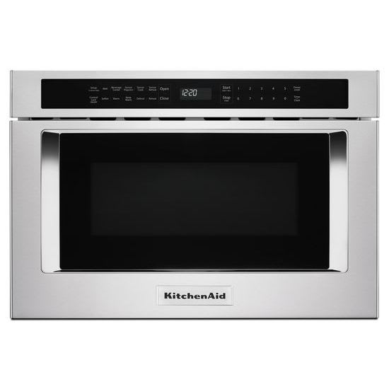 """KMBD104GSS by KitchenAid - Drawer Microwaves   Goedekers.com on kitchenaid stainless steel microwave, kitchenaid stainless steel oven, kitchenaid over the range microwave, kitchenaid counter microwave, kitchenaid microwave drawer, kitchenaid countertop microwave, kitchenaid commercial microwave, under gas range microwave, kitchenaid built-in microwave, kitchenaid wall mount microwave, kitchenaid 36"""" microwave vented,"""