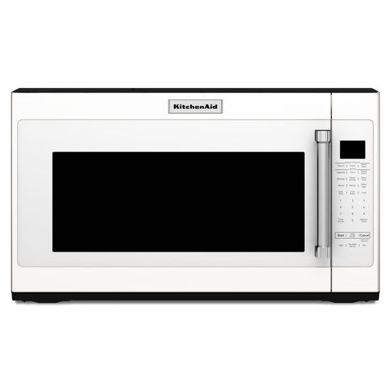 Kmhs120ewh By Kitchenaid Over The Range Microwaves Goedekers Com