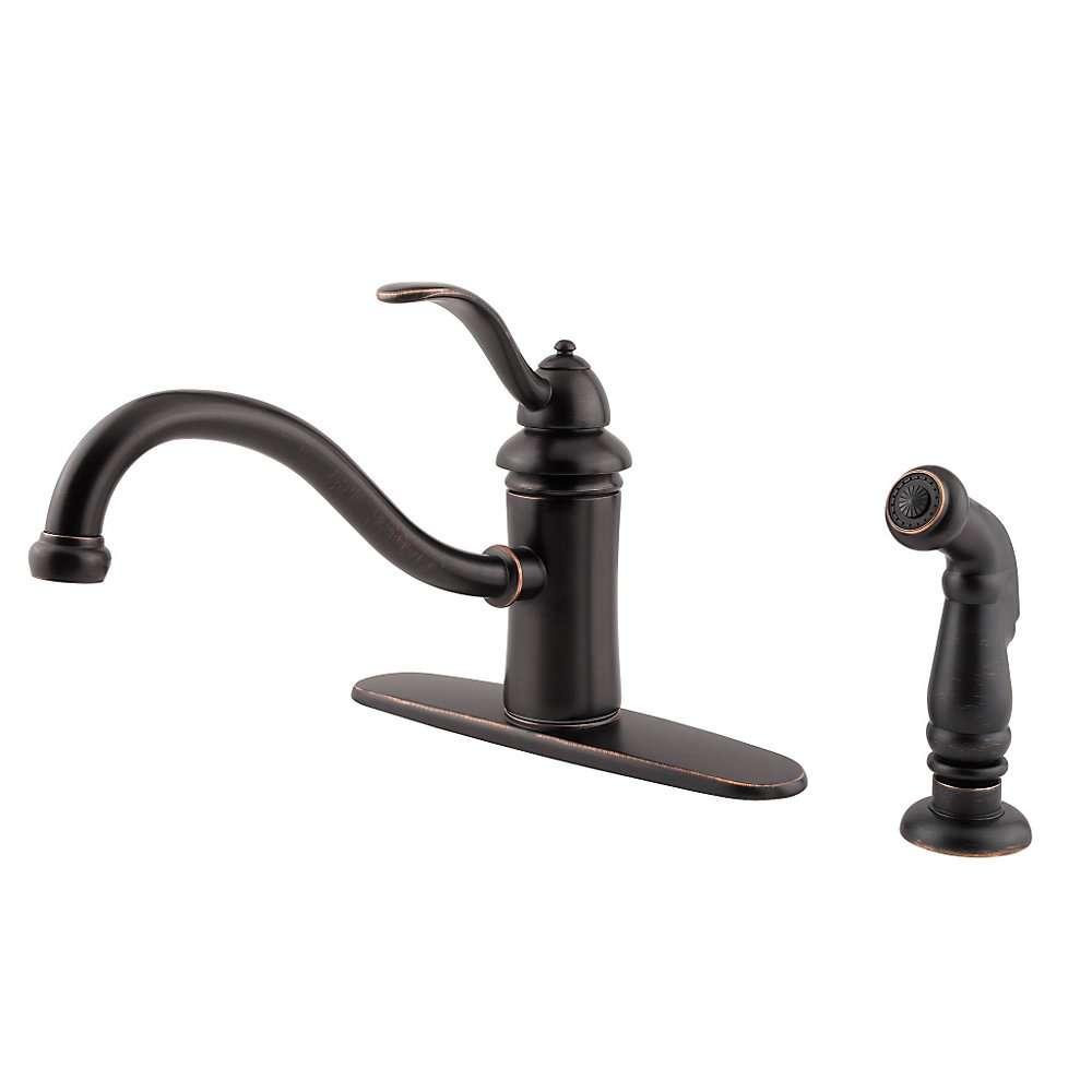 Marielle Kitchen Faucet GT34 4TYY Tuscan Bronze