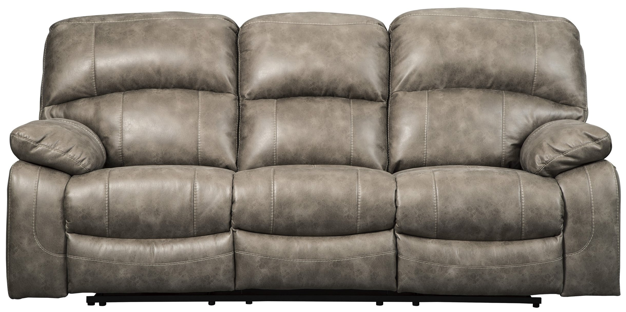 Signature Design By Ashley Dunwell Driftwood Power Reclining Sofa