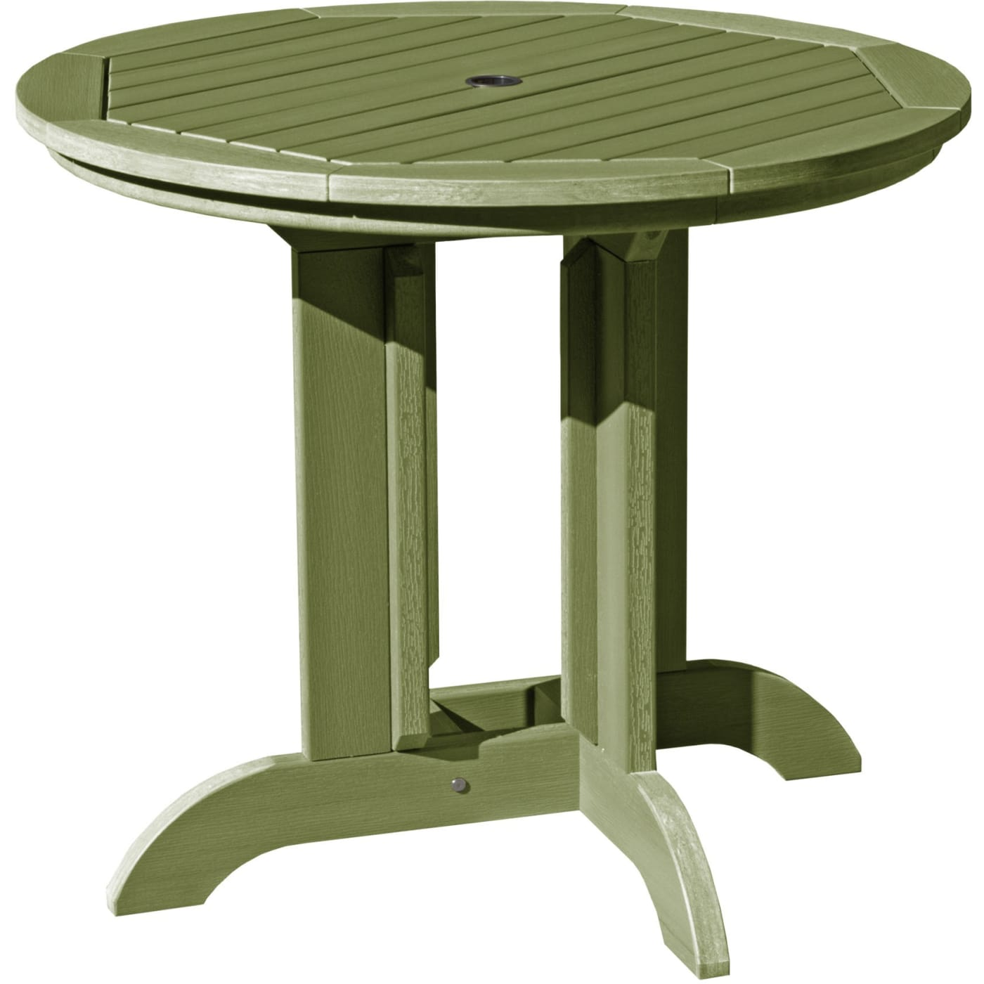 Highwood Dried Sage Round Diameter Dining Table Reviews - 36 diameter dining table