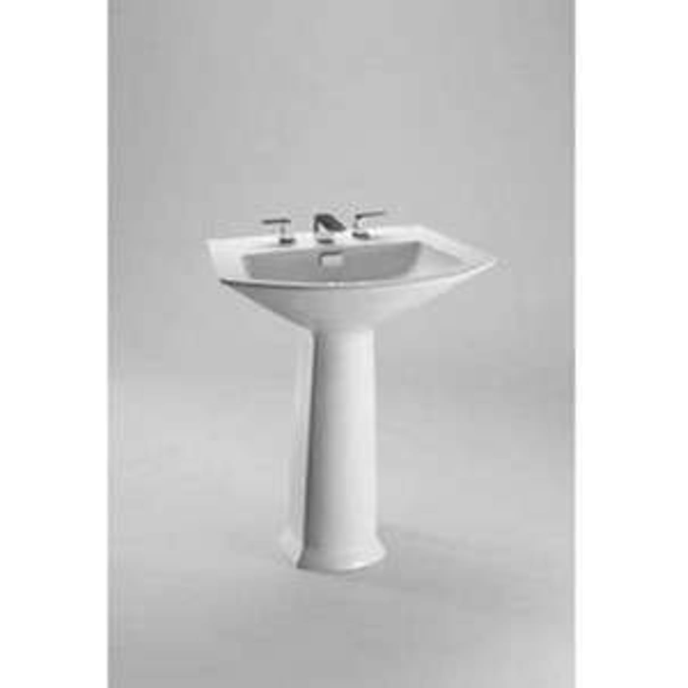 Toto Soiree Pedestal Vitreous China Bathroom Sink LT962.8#12 Sedona ...