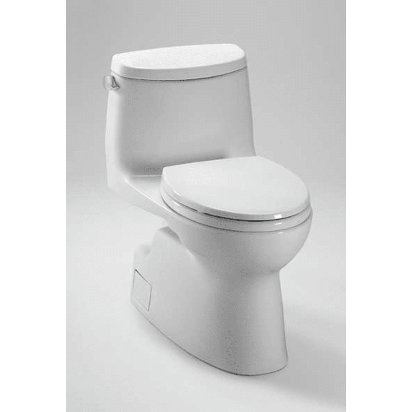 Toto Carlyle Elongated One Piece Toilet MS614114CEFG#01 Cotton White ...