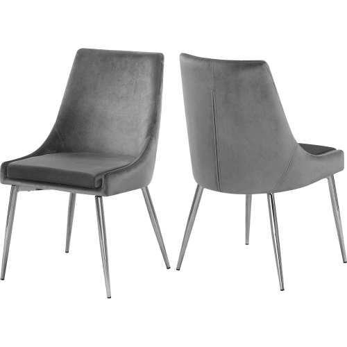 Awesome Meridian 784Grey C Gmtry Best Dining Table And Chair Ideas Images Gmtryco