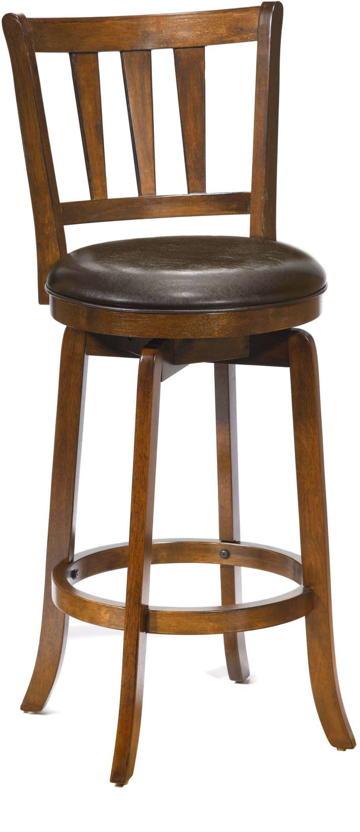 Hillsdale Presque Isle Cherry Swivel Bar Stool Amp Reviews