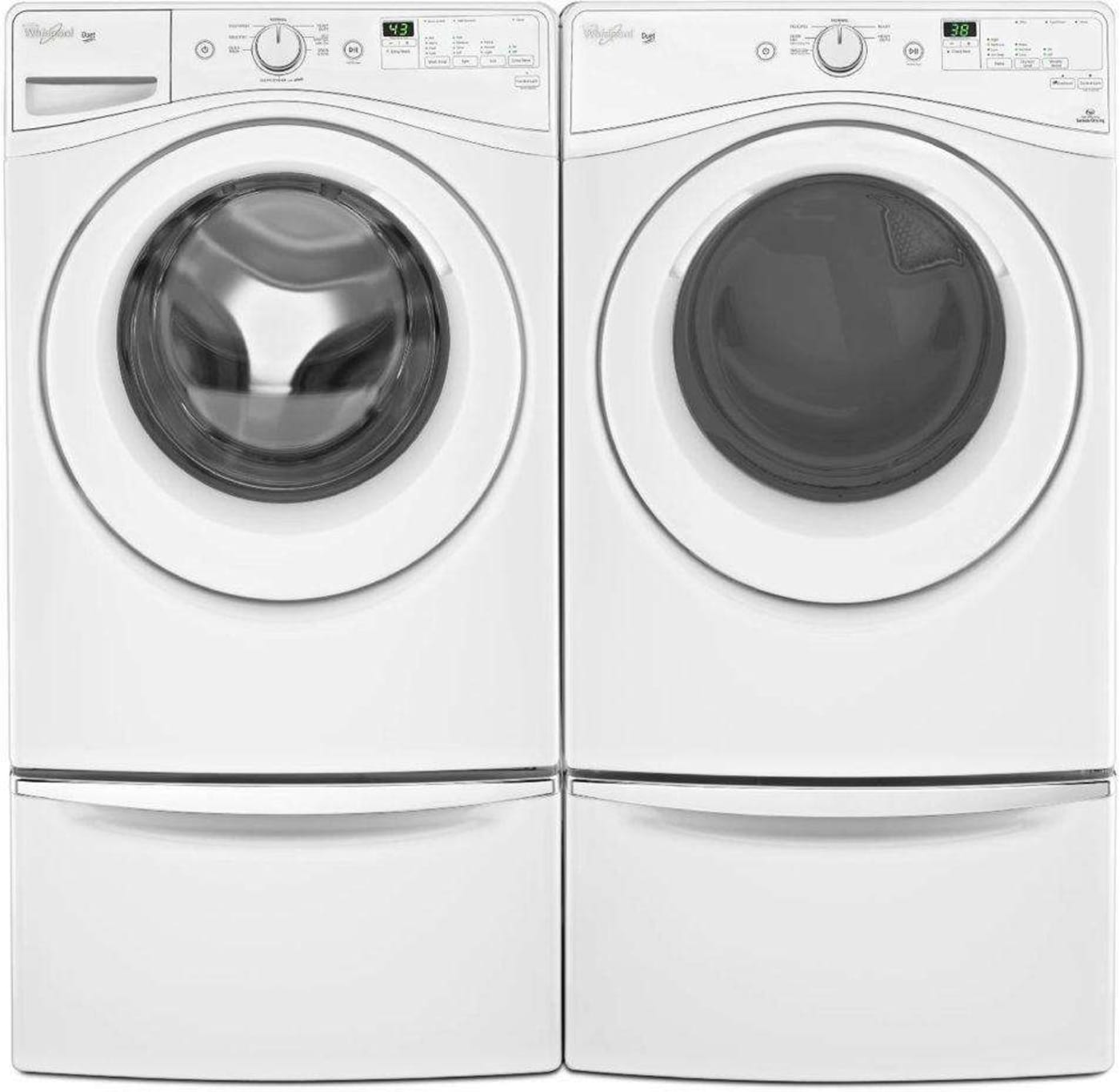 Wfw72hedw By Whirlpool Front Load Washers Goedekers Com