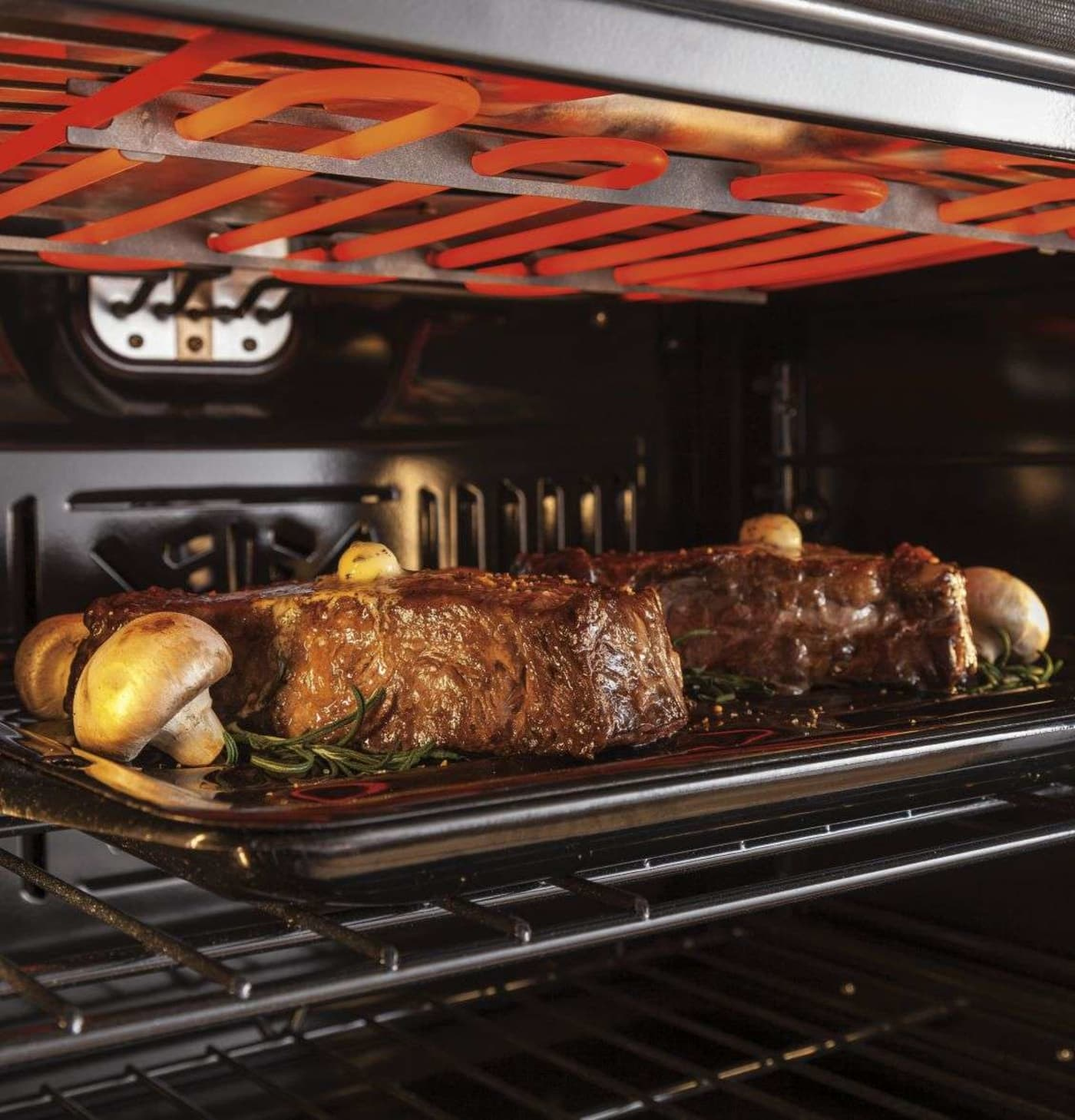 Zet1fhss By Ge Monogram Electric Wall Ovens Goedekers Com