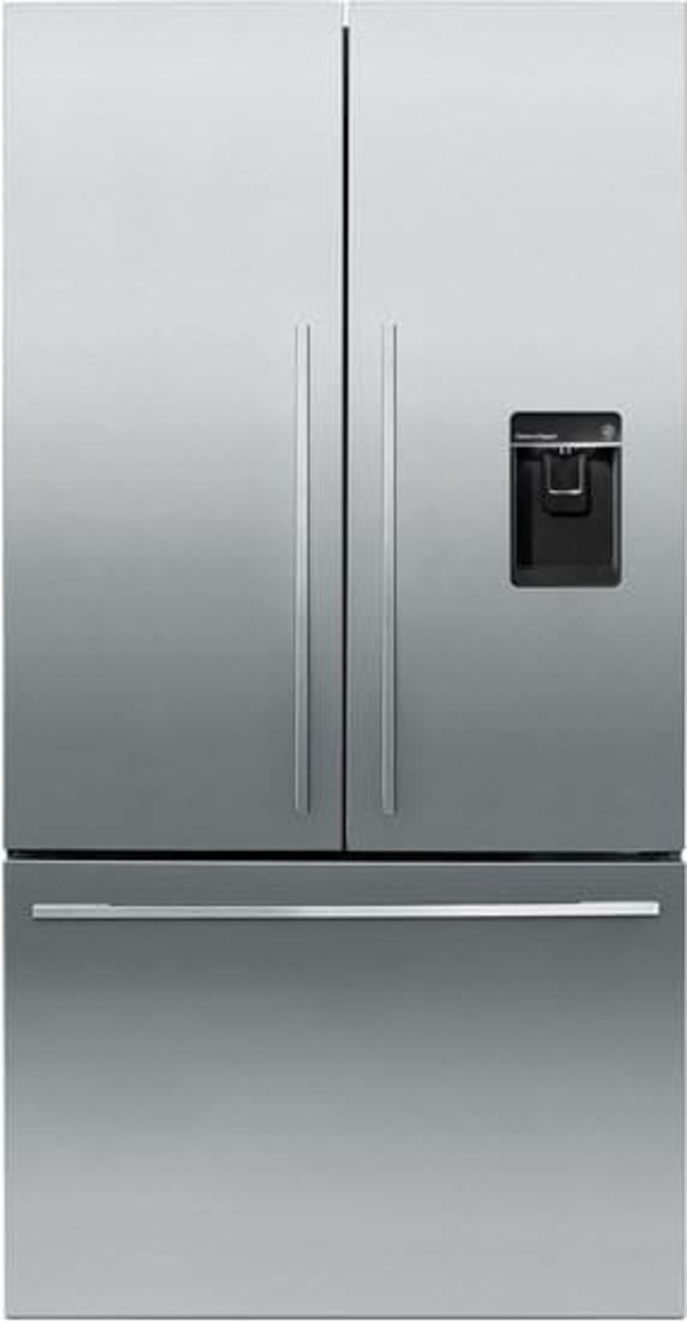 """Fisher Auto Sales >> Fisher Paykel RF201ADUSX5N 36"""" 20.1 cu. ft. Stainless Steel French Door Refrigerator with In ..."""