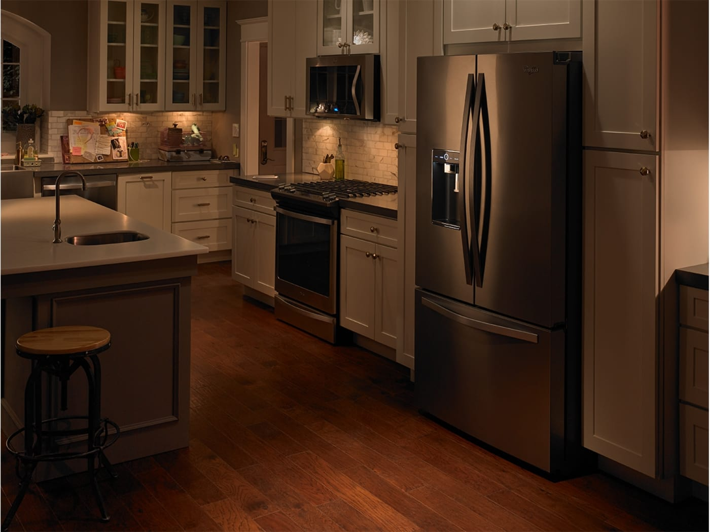 Wrf993fifm By Whirlpool French Door Refrigerators